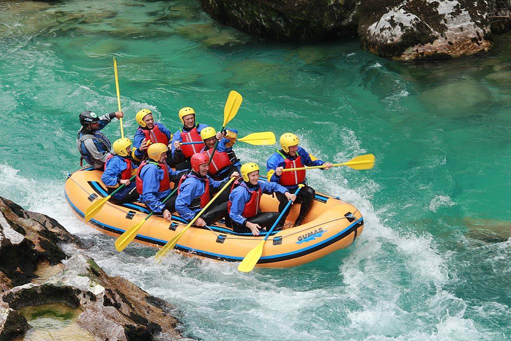 Rafting Soča izlet, Bovec, Slovenia