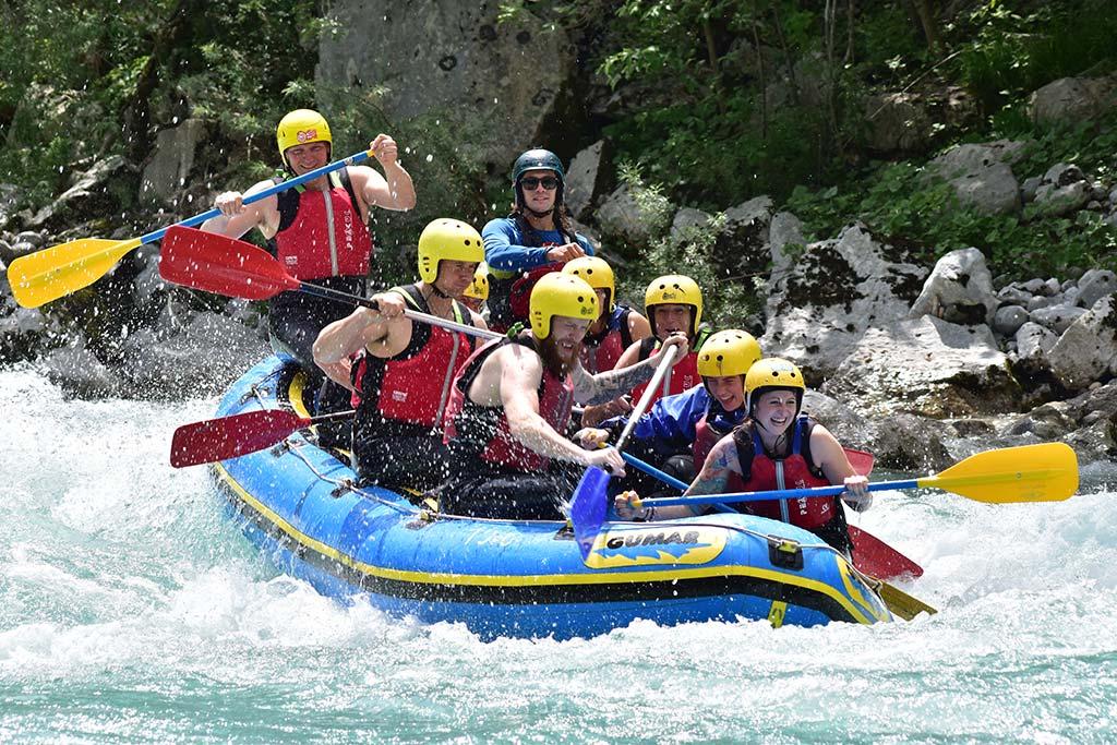 Hitre brzice Soča raftinga, Bovec, Slovenia